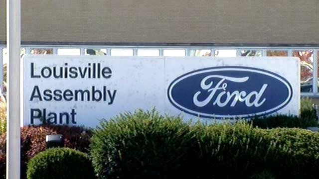 Ford temporarily idling Louisville Assembly Plant