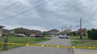 LMPD responds to shooting (4/14/21) in St. Dennis neighborhood