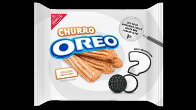 Churro-flavored creme Oreos