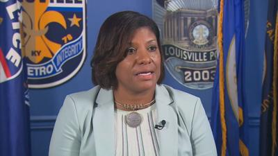 Yvette Gentry LMPD background