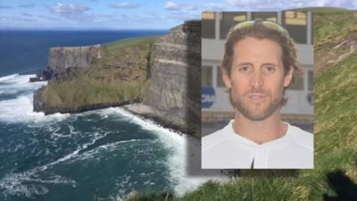 Centre College coach that fell from cliff in Ireland identified