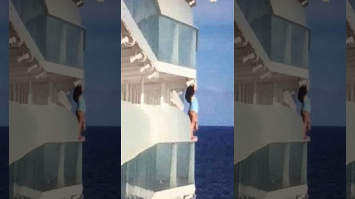 Royal Cruise Passenger Booted for dangerous selfie