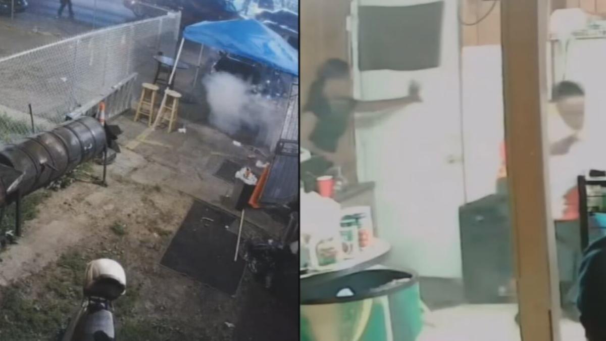 Surveillance video from June 1, 2020 when David McAtee was fatally shot