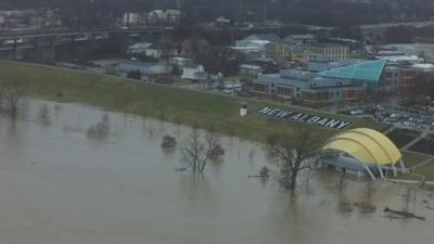 New Albany pump stations prepared for Ohio River to crest after nearly constant rain