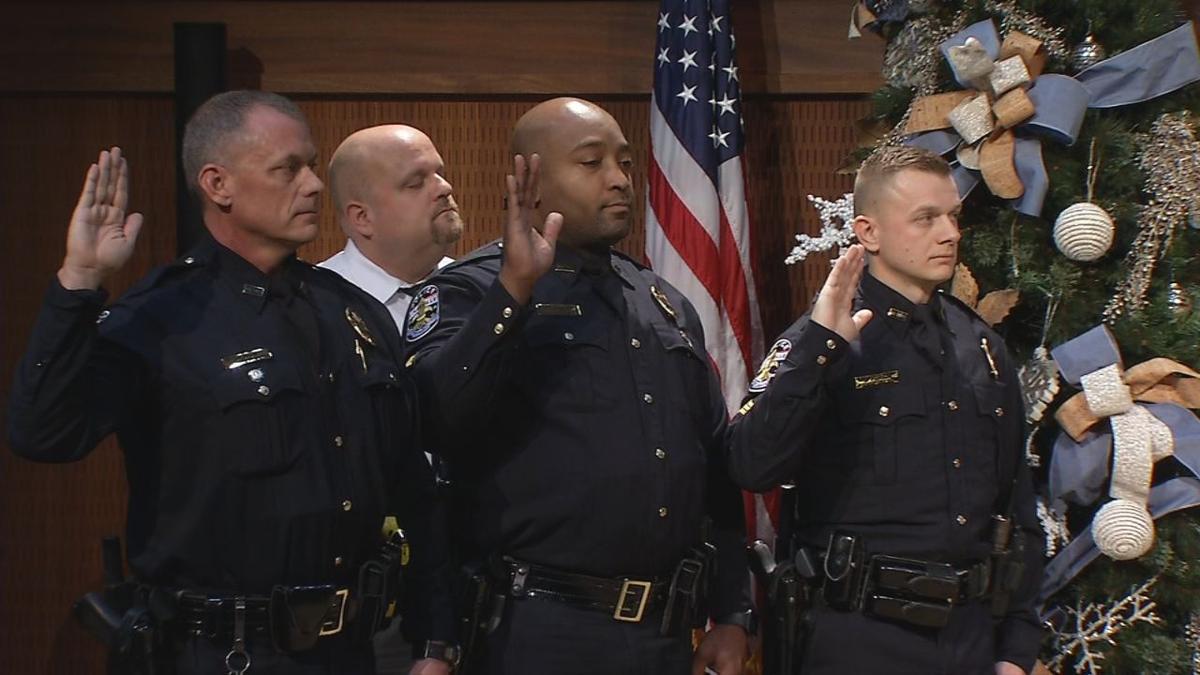 LMPD officers promoted