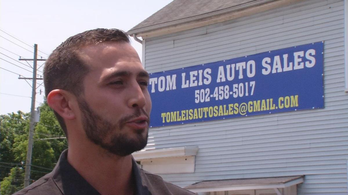 Marshall Leis, manager of Leis Auto Group