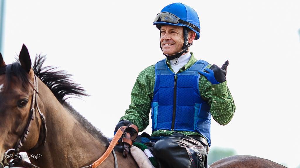 Jon Court, jockey