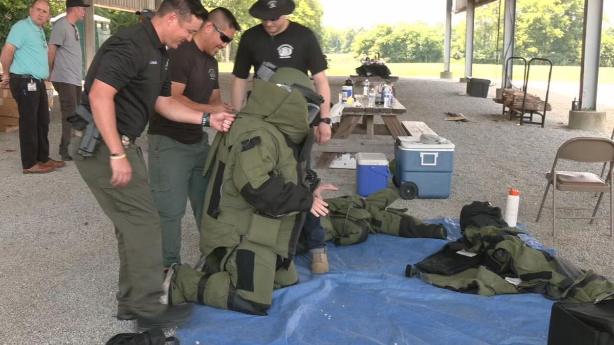 LMPD bomb squad training