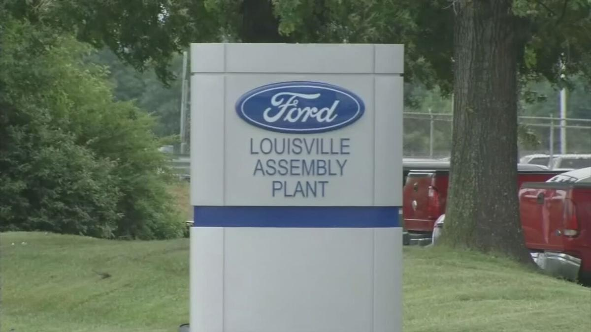 Ford Louisville Assembly Plant Sign
