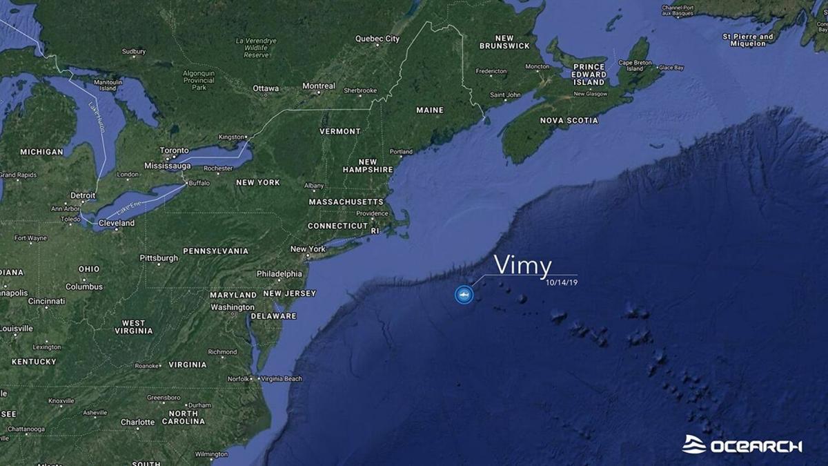 Vimy tracking map 10-19-19 Fox.jpg