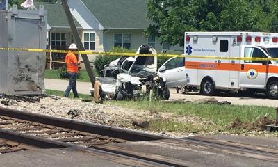 2 children dead, mother hospitalized after car-train collision in Henryville