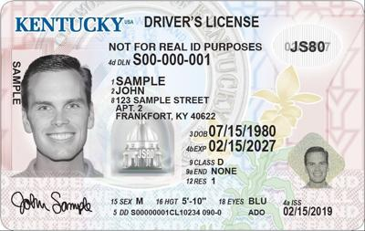 New 'standard' Kentucky driver's license
