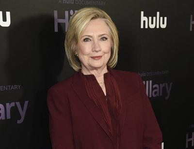 Hillary Clinton at documentary premiere