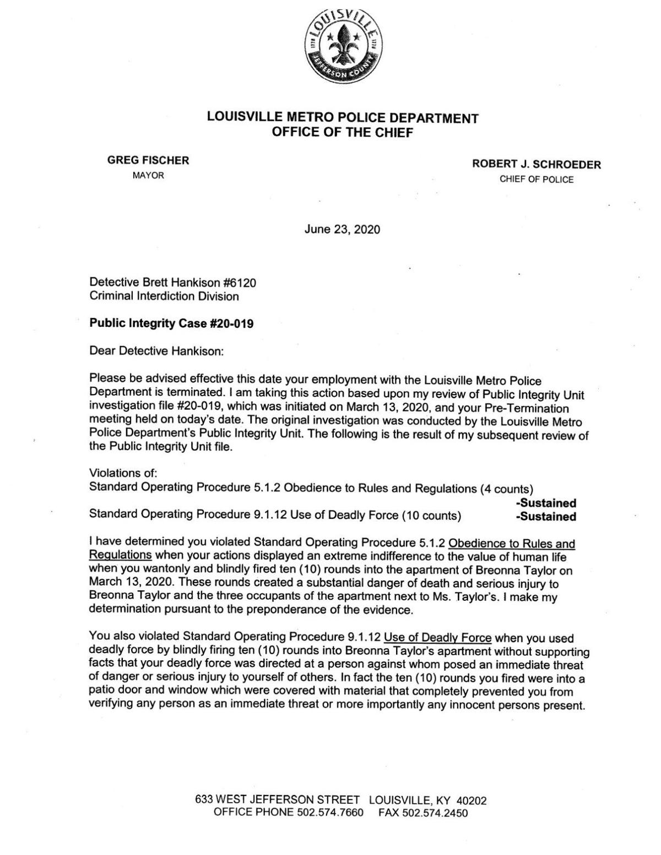 Hankison termination letter 6-23-20