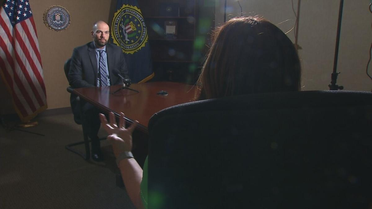 Valerie Chinn interviews Brian Jones, special agent in charge of the Federal Bureau of Investigation's Louisville field office