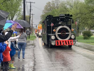 A train in the 2021 Pegasus Parade (4/10/21)