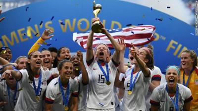 USWNT World Cup win