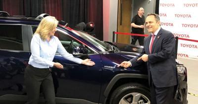 Toyota RAV4 3-14-19 Susan Elkington and Matt Bevin