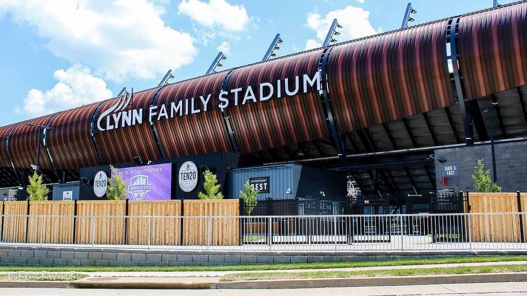 Lynn Family Stadium entrance
