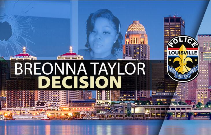 Breonna Taylor Decision Graphic