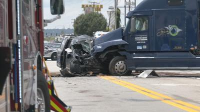 Fatal Crash on Fern Valley Road on 7-16-21