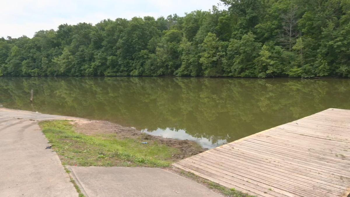 Sympson Lake in Bardstown, Ky.