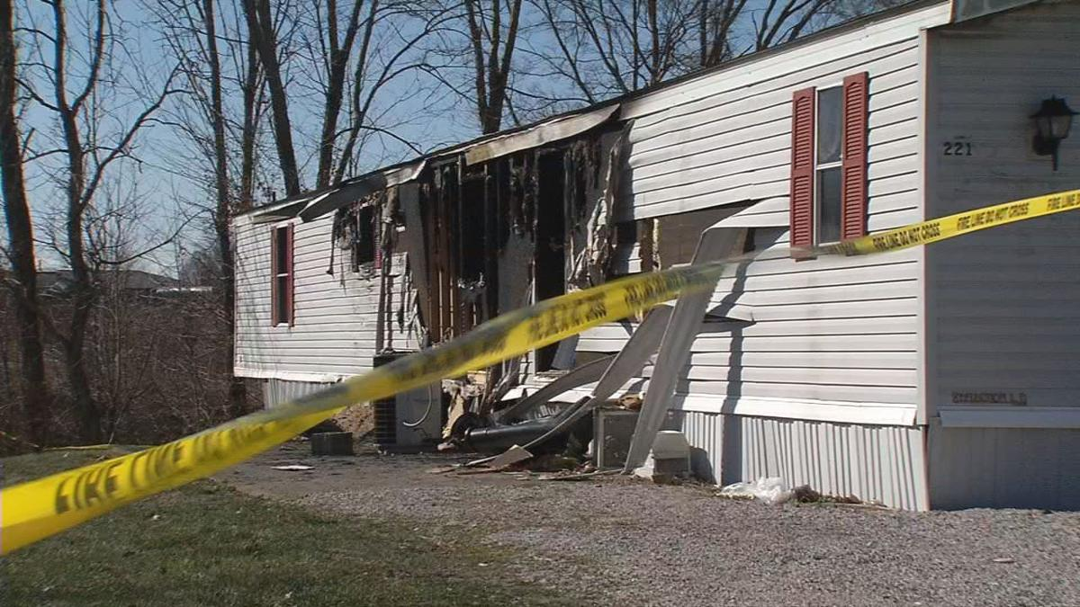Fatal mobile home fire (March 2017) that killed Jeffery Givan
