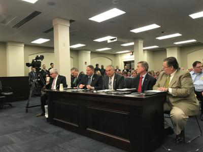 Gas tax bill hearing at Kentucky House budget committee