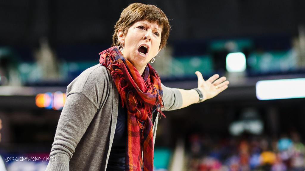 Muffet McGraw Notre Dame women's basketball