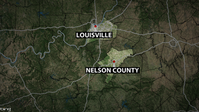 Nelson County Accidental Shooting Map