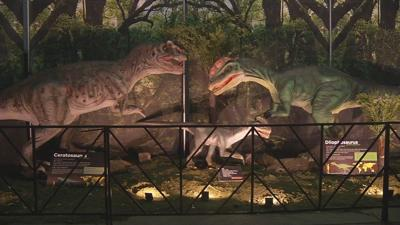 The Kentucky Expo Center goes back in time with Jurassic Quest