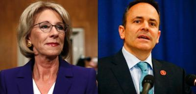 DeVos, Bevin to attend federal school safety meeting in Lexington