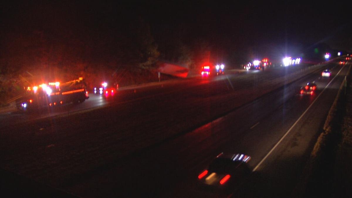 Fatal crash on I-65 north in Scott County 10-24-20