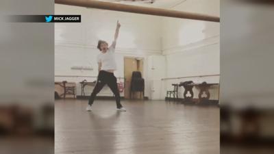 MICK JAGGER DANCING - courtesy Mick Jagger on .jpg