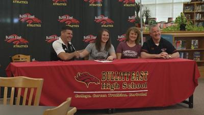 Carley O'Neill signs to wrestle at Campbellsville University