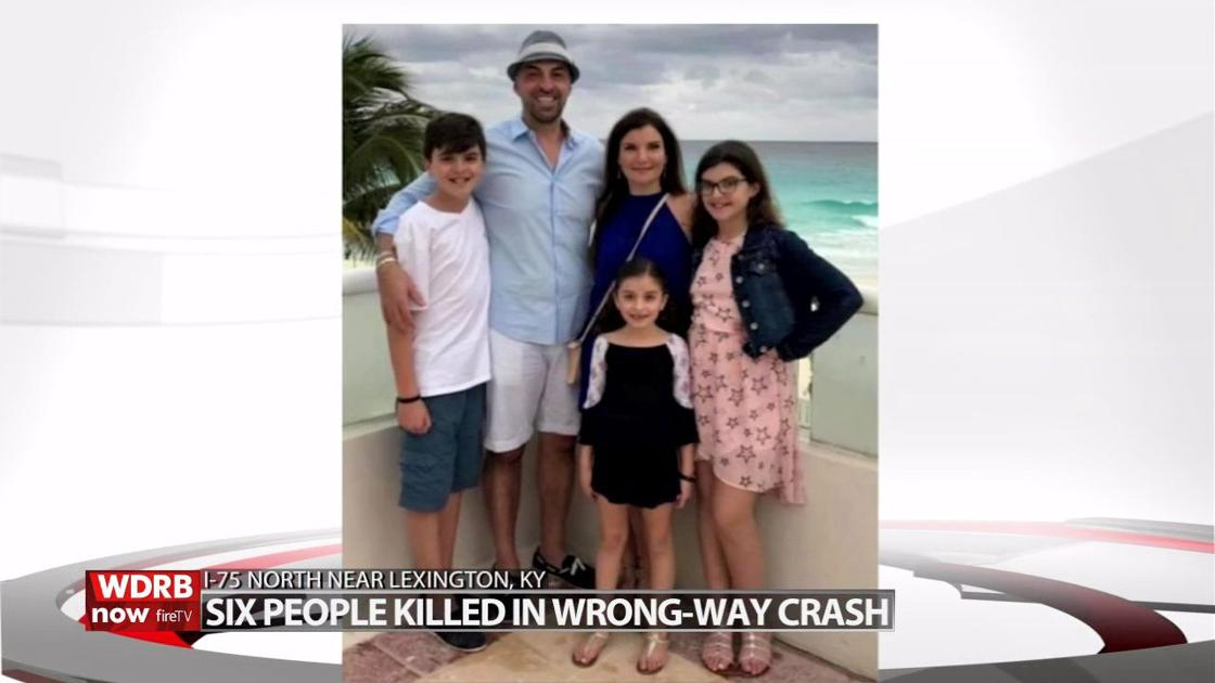 6 killed in crash caused by wrong-way driver near Lexington