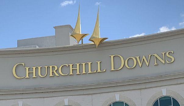 Churchill Downs sign