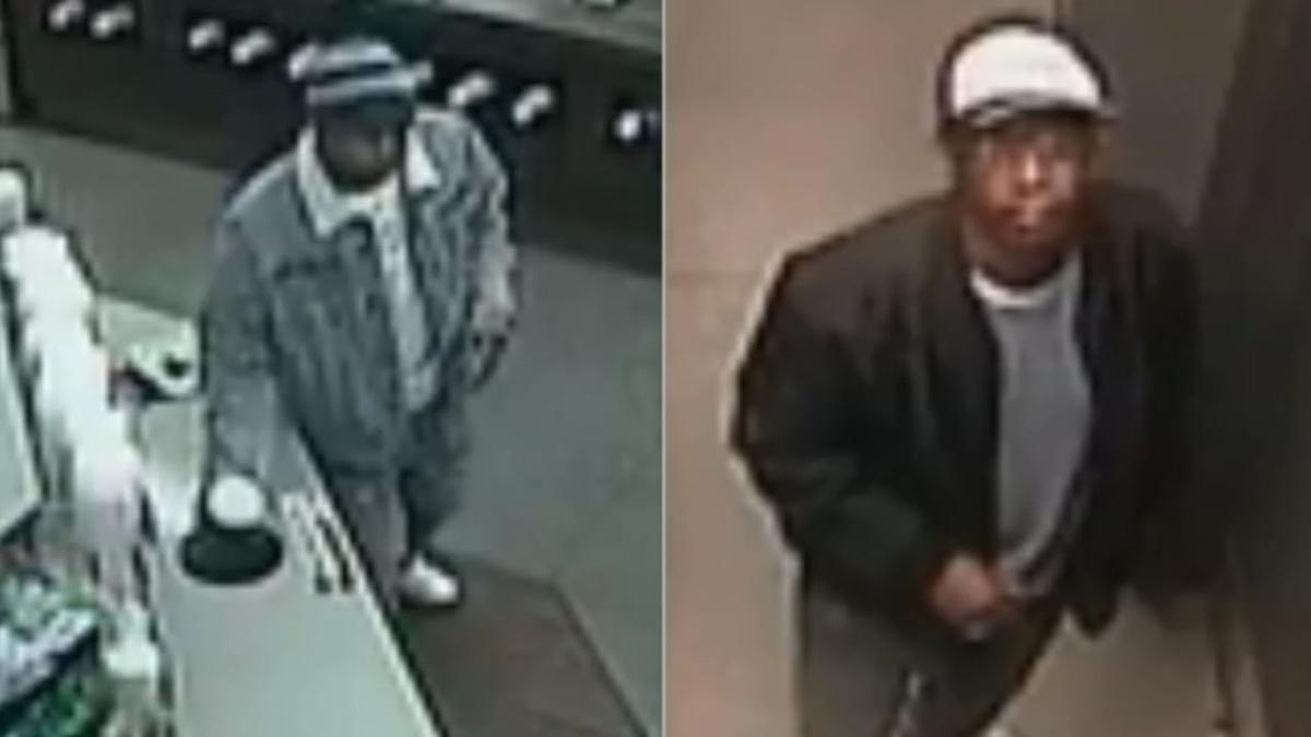 Surveillance images from Thanksgiving 2019 Thorntons robbery