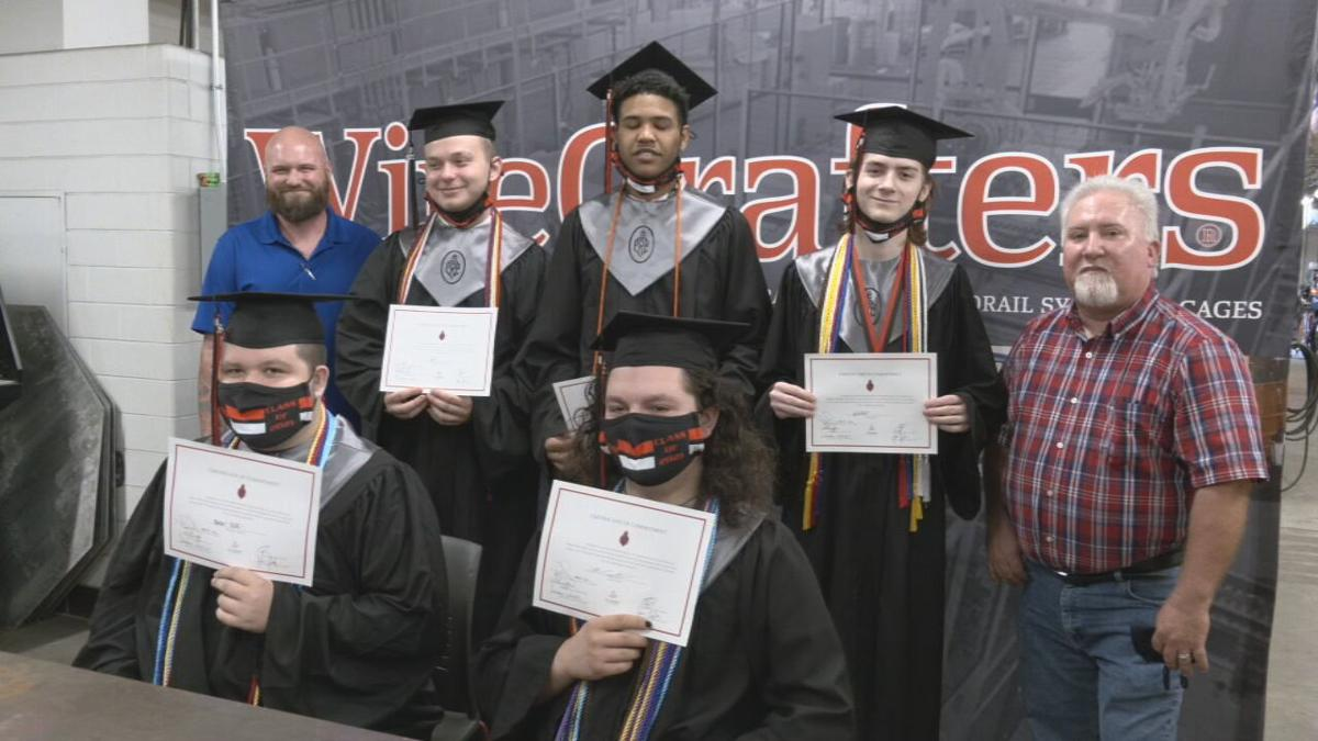 PRP High School Class of 2021 students sign on to be welders for Louisville-based WireCrafters