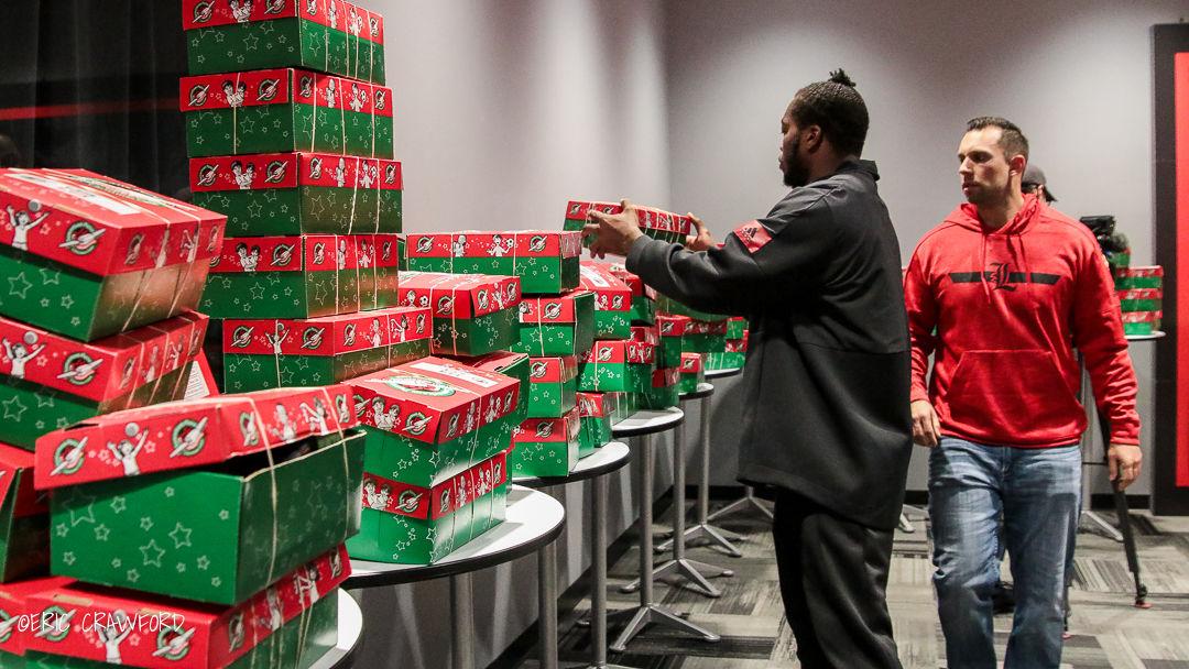 Louisville football Christmas