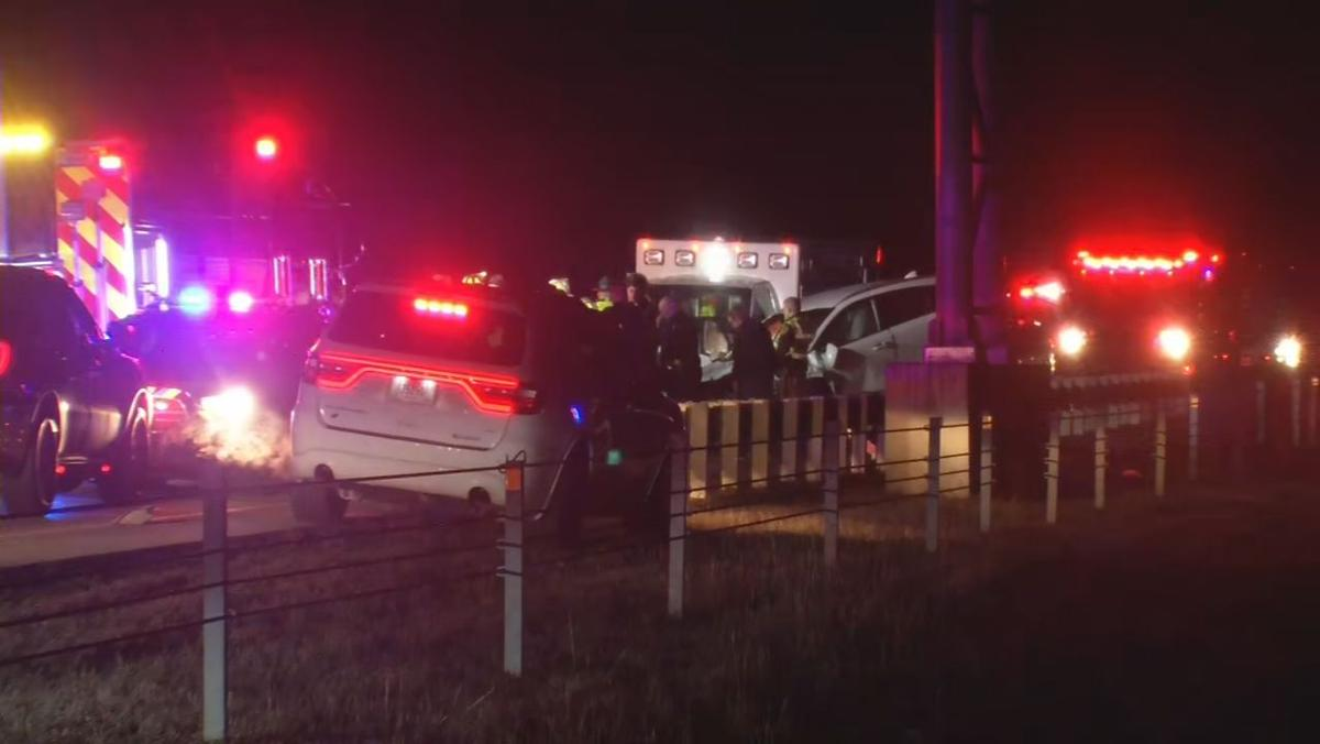 One killed in multiple-vehicle crash on I-265 in southern Indiana