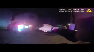 Portland shooting 11-22-20 body cam video frame