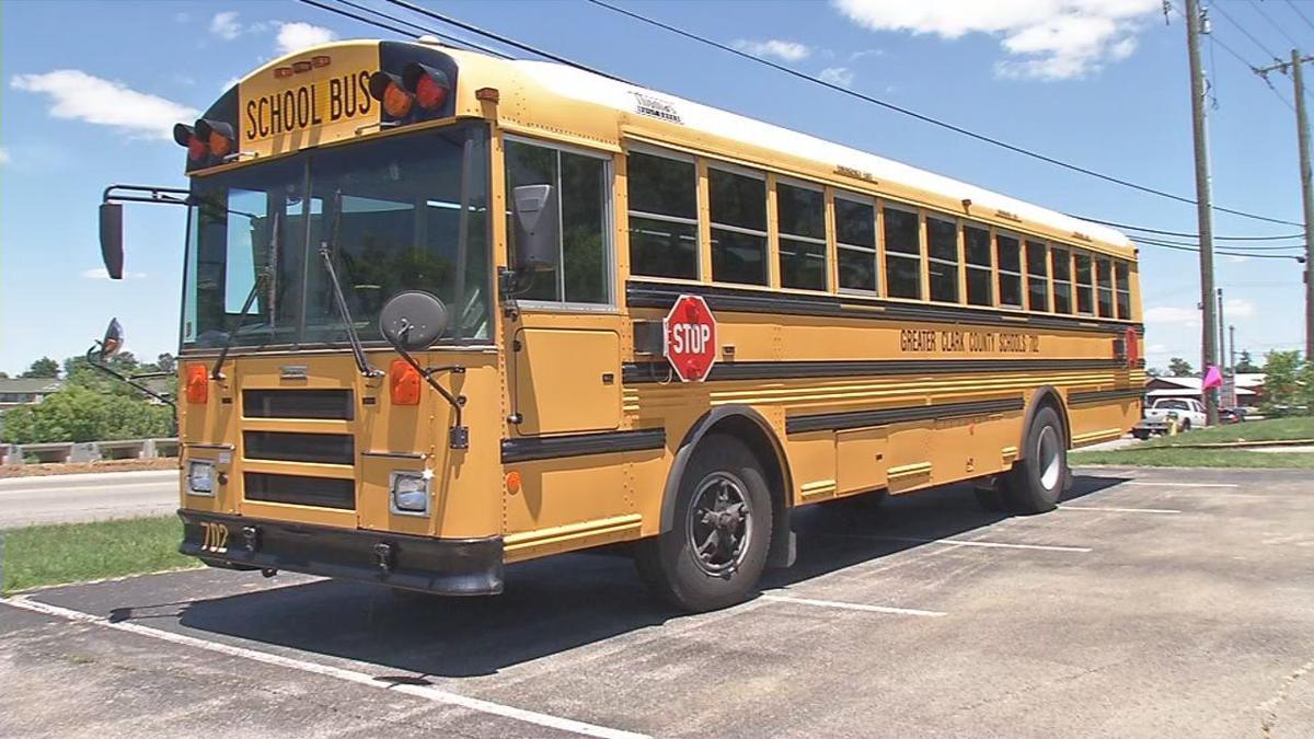 Greater Clark County school bus