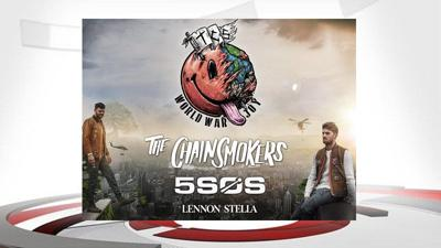 The Chainsmokers tour announcement