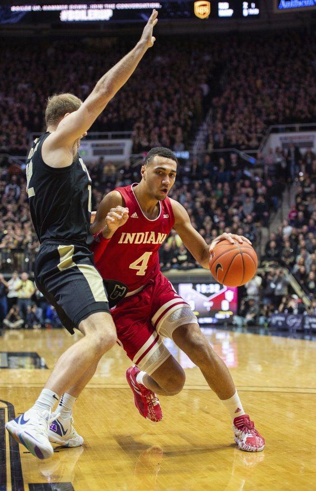 Indiana forward Trayce Jackson-Davis