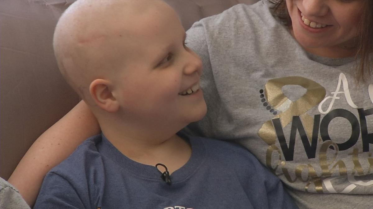 Carter Matthew Willett (child diagnosed with Ewing Sarcoma cancer)