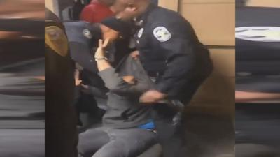 Video shows police dragging student out after Central High School dance
