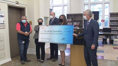 Check for The Library Foundation Bookmobile