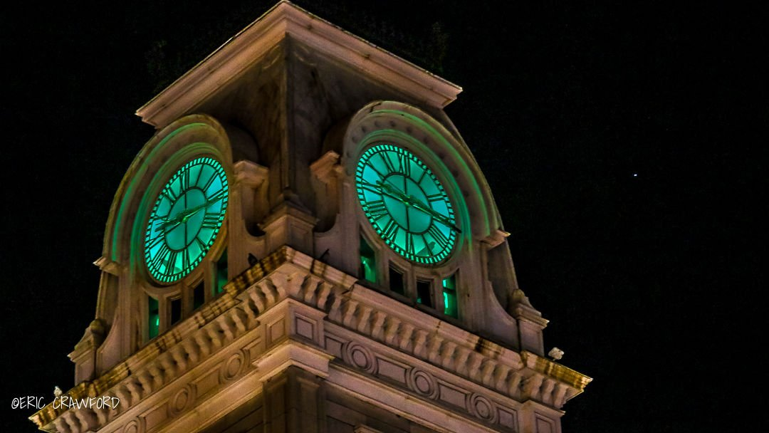 Metro Hall clocktower