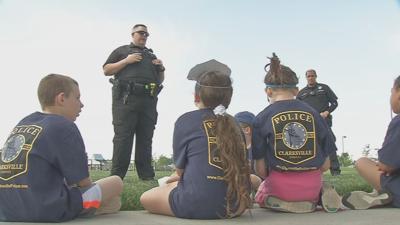 Clarksville Jr. Police academy